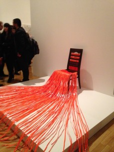 Sikander Pervez, Chair and Plastic II, BMAG