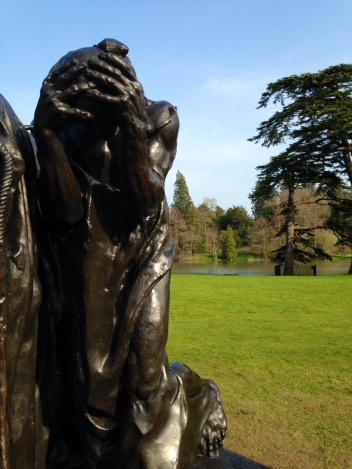 Rodin - Burghers of Calais, hands