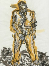 British Museum, A New Type, Georg Baselitz, 1965