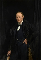 Sir Winston Churchill, by Sir William Orpen, 1916