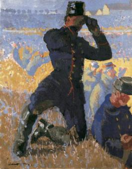 National Portrait Gallery - Walter Sickert, The Integrity of Belgium