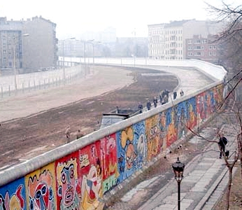 View from the West Side of the Berlin Wall