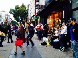 Music and Dancing in Williamsburg, New York