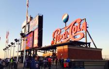 Pepsi Cola Sign at the New York Mets