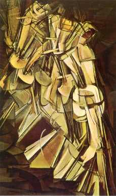Duchamp - Nude Descending a Staircase