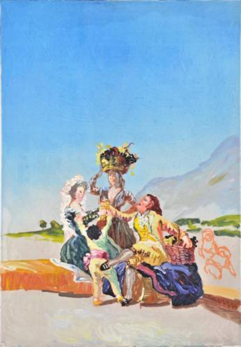 Herbest oder die Traubernte - Peter Schmersal