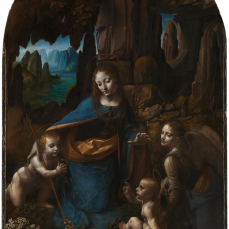 Leonardo Da Vinci - Virgin on the Rocks