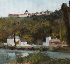 Camille Pisarro - Houses II