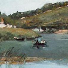 Camille Pissarro - Boat