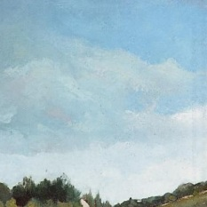 Camille Pissarro - Close up of sky