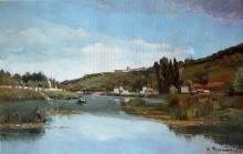 Camille Pissarro - The Marne at Chennevieres