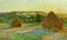 Claude Monet - Haystacks - 1890-1891