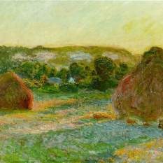 Claude Monet - Haystacks - 1890-1891