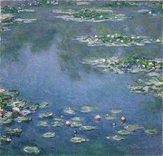 Claude Monet - Water Lilies - 1906