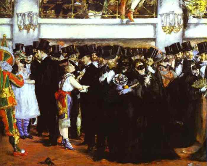 Edouard Manet - The Masked Ball at the Opera