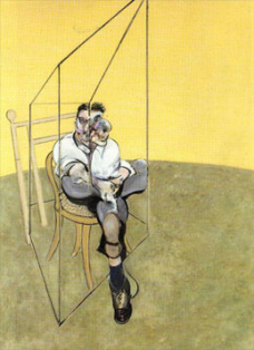 Francis Bacon - Lucian Freud - Yellow Triptych