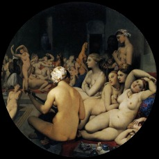 Jean-Auguste-Dominique Ingres - 'The Turkish Bath'.