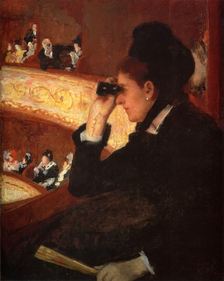 Mary Cassatt - In the Lodge - At the Opera