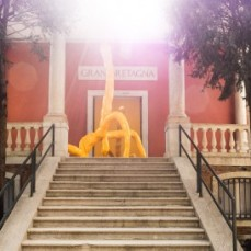 Sarah Lucas, I SCREAM DADDIO, Installation View, British Pavilion 2015 (c) British Council
