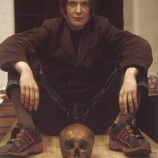 Self Portrait with Skull 1997 by Sarah Lucas born 1962