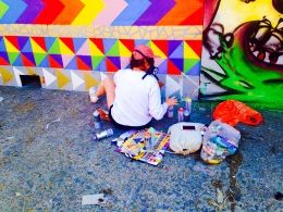 Bristol Upfest 2015 - Colours and Masks!