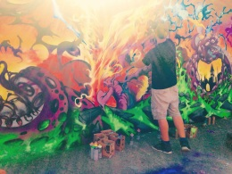 Bristol Upfest 2015 - Paint and Sun