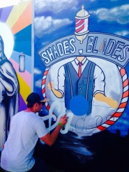 Bristol Upfest 2015 - Shades and Blades