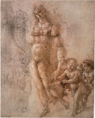 sandro-botticelli-sketch