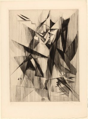 Villon, Monsieur Duchamp reading