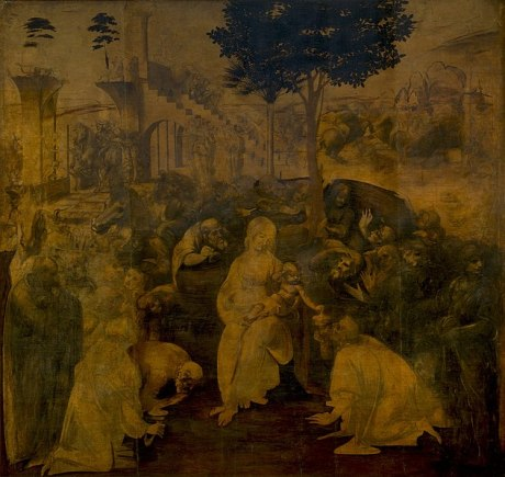 Leonardo da Vinci (1452–1519) - Adoration of the Magi (c.1480-82)