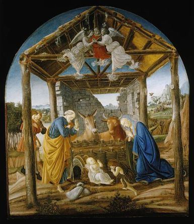 Sandro Botticelli (1445–1510) - Nativity (c.1473-75)
