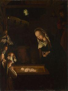 Geertgen tot Sint Jans, The Nativity at Night, c 1490.