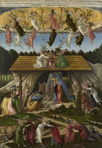 Sandro Botticelli (1445–1510) - The Mystical Nativity (1500)
