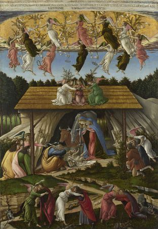 Sandro Botticelli (1445–1510) - The Mystical Nativity (1500)