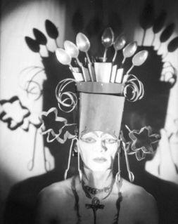 Baroness Elsa Von Freytag Loringhov - Tea Spoon Headdress