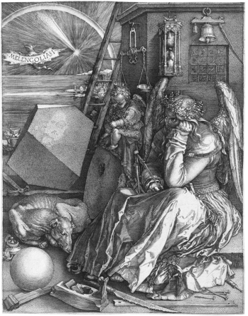 Albrecht Durer - Etching, Melancholia, c.1514