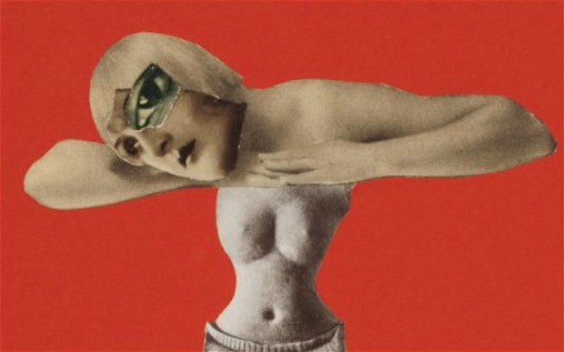 Hannah Hoch - Nude Woman Collage