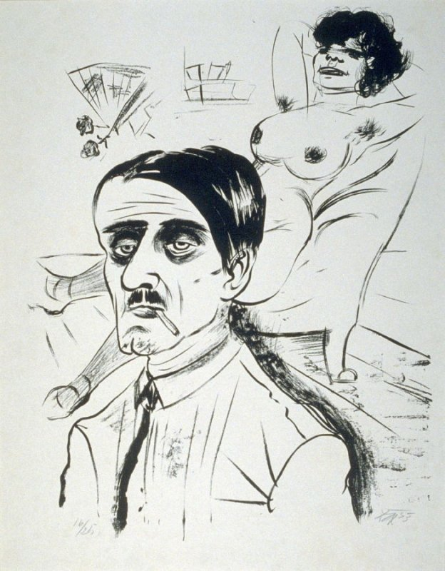 Otto Dix - Louis and the Prostitute