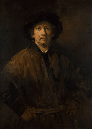 Rembrandt - Self Portrait, 1652