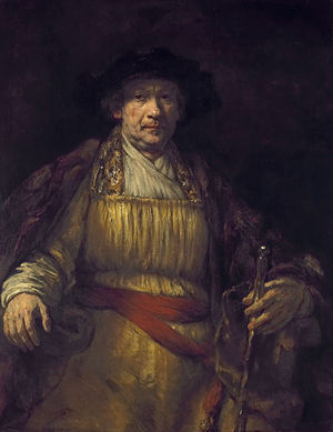 Rembrandt - Self Portrait, 1658