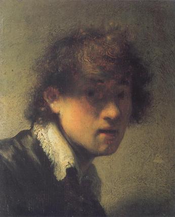 Rembrandt - Self Portrait as a Young Man, 1629