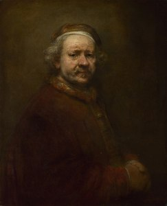 Rembrandt - Self Portrait at the Age of 63