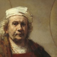 Rembrandt - Self Portrait with Two Circles