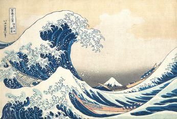 Hokusai - Great Wave off Kanagawa - 19th Century