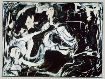 Willem de Kooning, Black Untitled (1948)