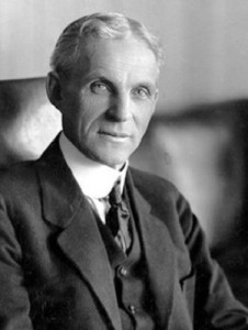 Henry Ford (1863-1947) - American industrialist and a business magnate