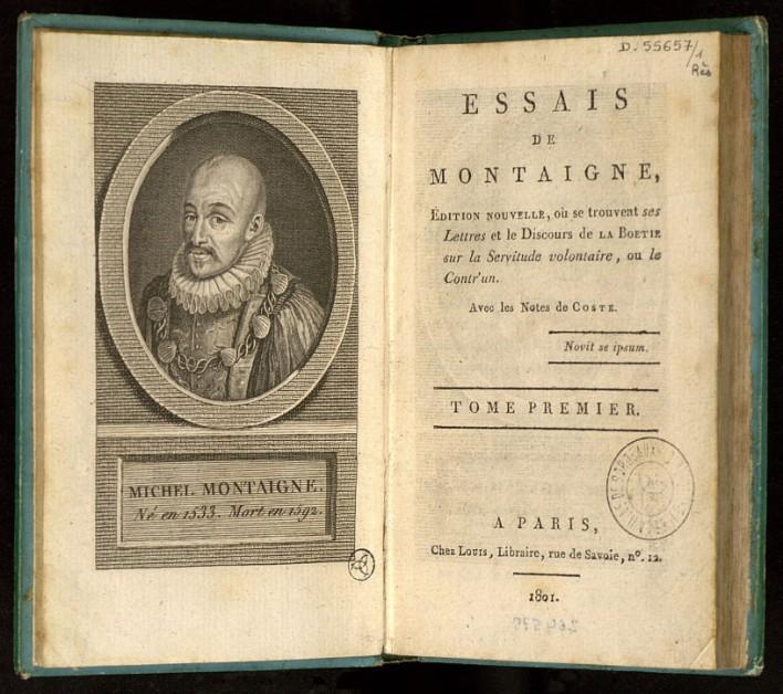 Michel De Montaigne - Essais de Montaigne