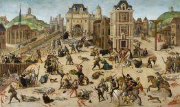 """François Dubois (1529–1584), """"The Massacre of Saint Bartholemew"""" (c. 1572-1584)."""
