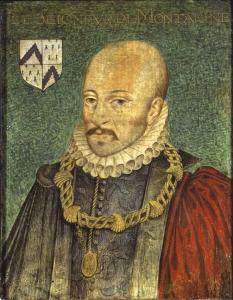 Michel De Montaigne - Portrait, Book Cover